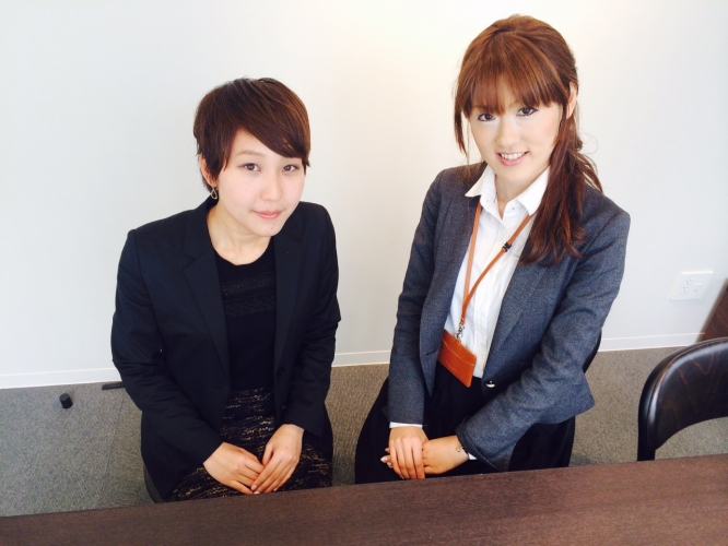 女性による法人営業支援事業を展開する 株式会社g-wic代表新出さんとインターン生の倉本さんにインタビュー