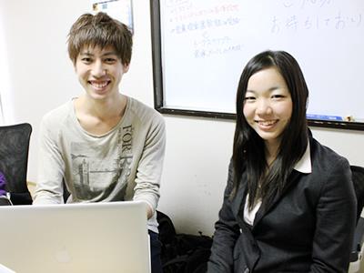 株式会社アイデアマンで働く学生にインタビュー!