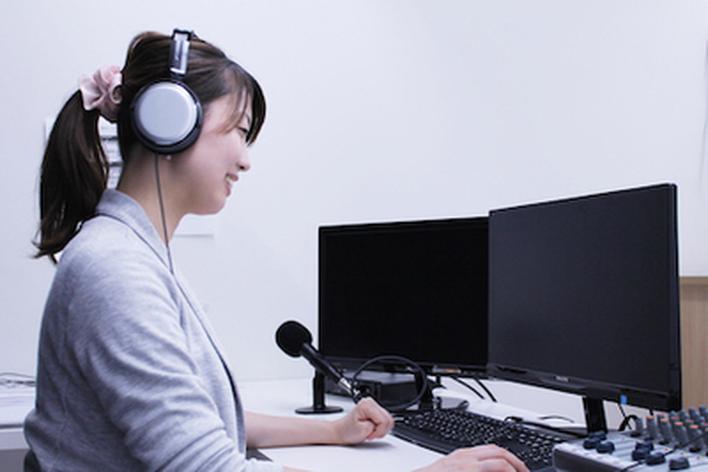アナウンサー兼映像配信のお仕事。コミュニケーション好き・教師志望の方にオススメ♪