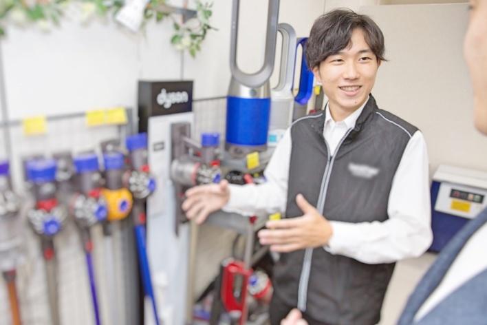 家電量販店での実践型販売インターン