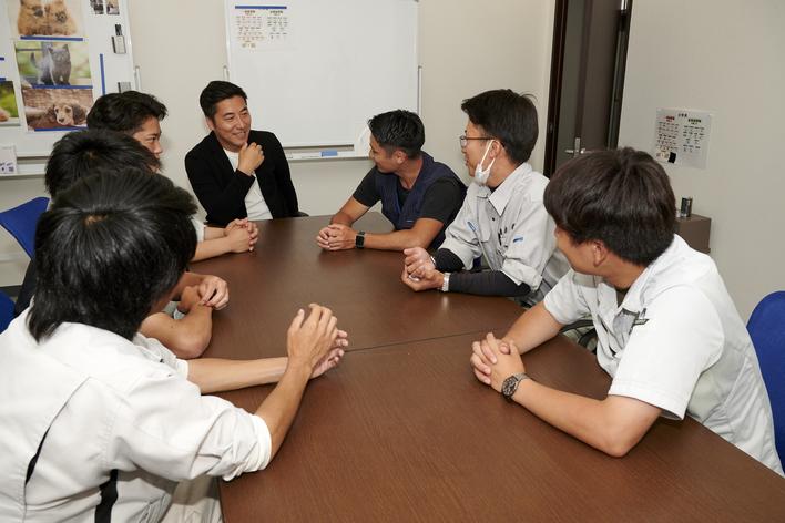 【代表から直接指導!】過去最高益を更新し続ける会社で、営業インターン!