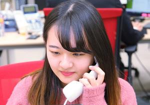 WEBマーケティング業務を担当しています(慶應義塾大学3年)