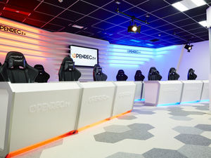 OPENREC STUDIOという自社スタジオを保有しております!