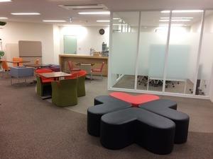 改装して1年ほどのキレイなオフィスです!