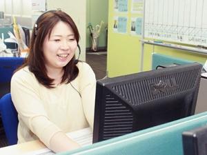若いメンバーが活躍中!先輩社員が丁寧に教えていきます。募集人資格もとれます!