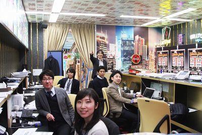 社内は部屋ごとに様々なコンセプトがあります。カジノや潜水艦、和室、ローマ、ビーチなど様々な部屋があります!ぜひ見に来てください!