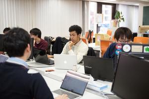 スタートアップの聖地である渋谷にオフィスを構えています