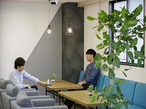 オフィスでまったりミーティング
