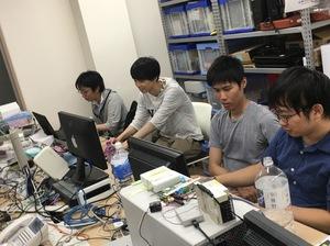 プログラミング好きなメンバーが揃っています。一緒に新しいサービスを開発しましょう!!