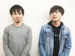主にSARASを担当するのはディレクターの池田と社長の石田