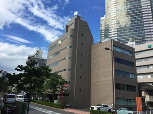 【オフィス外観】恵比寿駅から徒歩7分の好立地!
