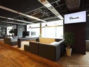 新宿駅&代々木駅から徒歩3分!ドラマ撮影にも使われた綺麗でかっこいいオフィスです。