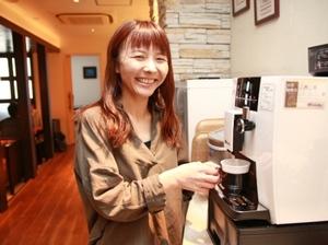 コーヒーサーバー完備!オンオフの切り替えはとても大切です^^