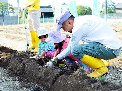都内で気軽に農業体験を楽しめるサポートをしていただきます!
