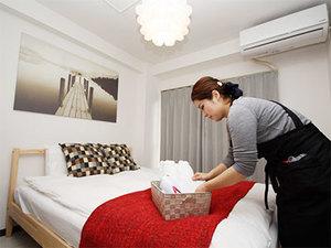 「民泊でありながら、ホテルのような仕上がりを」がコンセプトです。