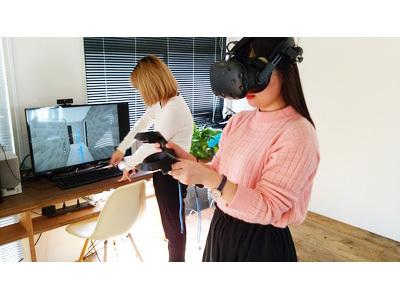 VRルームにて体験できます!