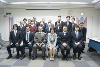 経営方針発表会の集合写真