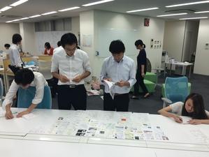 社員も学生さんも一緒になって、イベント開催しています