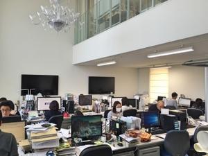 開放感のあるオフィス!