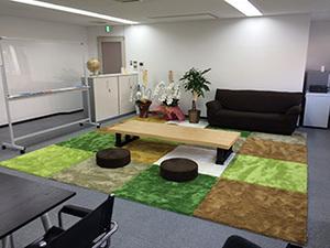 綺麗なオフィスで開発ができます