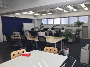 昨年9月に移転したばかりのきれいで広々としたオフィスです。