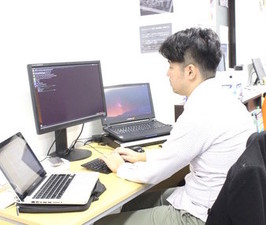 エンジニアが集中して開発できる環境を用意しています。