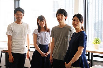 エン・ジャパンの新サービス『engage』を広めていくチーム。男女比5:5、平均年齢26歳のチームです。