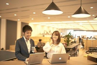 オープンで、自由に議論を行なったり、コミュニケーションを取りやすいオフィス環境です