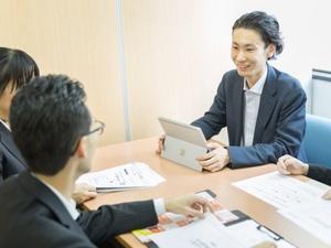 営業未経験でも先輩社員がしっかりサポートします!