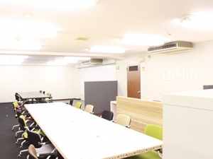 コワーキングスペースを学生で運営します!