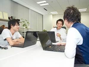 営業リーダーによる充実した研修があります!