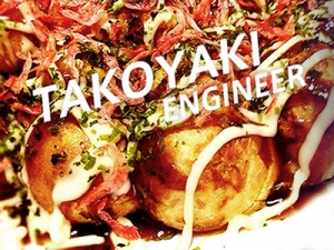 The famous characters in Osaka「Takoyaki」×「Engineer」!?