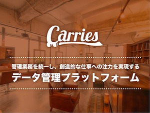Carriesは、美容業界に特化したB2B/B2Cプラットフォーム。続きは面談で!