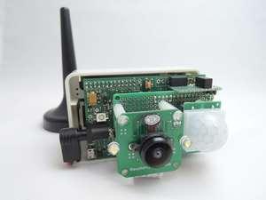 Raspberry Piで構成したプロトタイプ