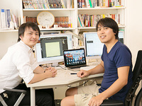 代表の吉村(左)と開発部長の宮野(右)が今回のインターンチームを率います!一緒にサービスを立ち上げましょう!