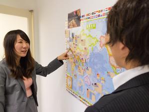 日本だけでなく、世界展開を狙う当社。グローバルに活躍したい方にぴったりです!