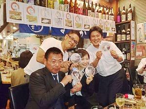今年は全国FC大会1位いくぜ!!の決起集会☆(弊社が運営している居酒屋「なか吉」にて♪)