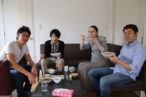 エンジニア社員の黒澤が麻婆豆腐をふるまってくれました^^