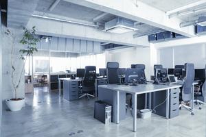引っ越したての綺麗なオフィス、代官山恵比寿にも近くて便利