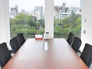 天満橋から徒歩1分!綺麗なオフィスで働こう!