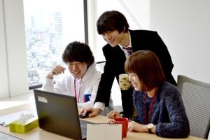 日本トップクラスのオフィス環境、音楽も流れています!