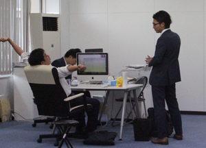 オフィスは移転したばかり。これから事業拡大をしていく予定なので、組織を良くするアイディアはどんどん持ってきてください!!