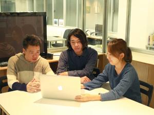 企画段階からミーティングに参加でき、事業・メディアを作り上げる過程を体験できます