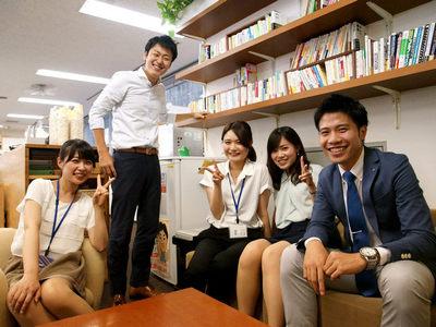 若いメンバーが多数活躍中!明るい雰囲気の職場です。