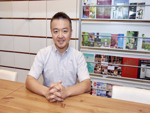 代表の横川です。私と一緒に日本の良さを伝えてくれる学生さんをお待ちしています。