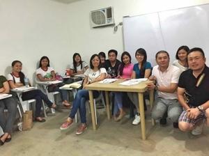 フィリピン現地での授業風景です