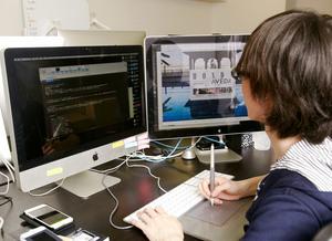 デザイナーやコーダーも若手が頑張っている職場です。