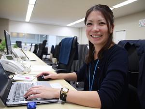 女性社員も活躍中。