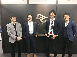 大阪オフィスは若い社員のみですぐ慣れます!