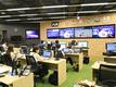 オフィス内にある「パ・リーグデジタルメディアセンター」での業務です。